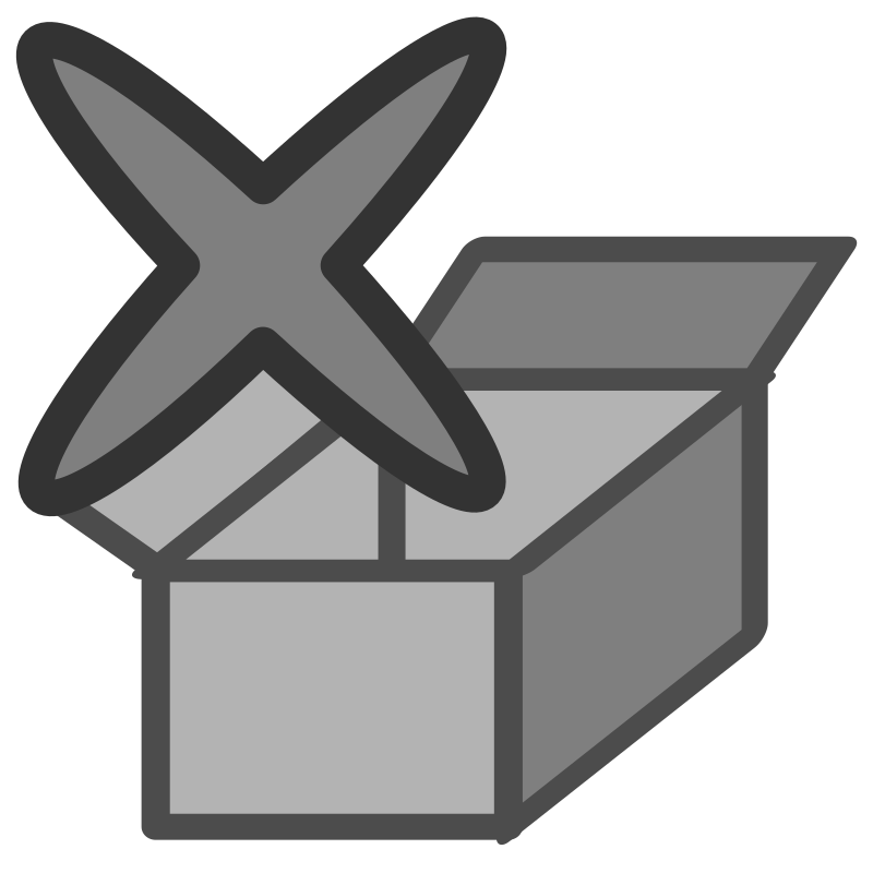 ftark delete by dannya - Originally uploaded by Danny Allen for OCAL 0.18 this icon is part of the flat theme