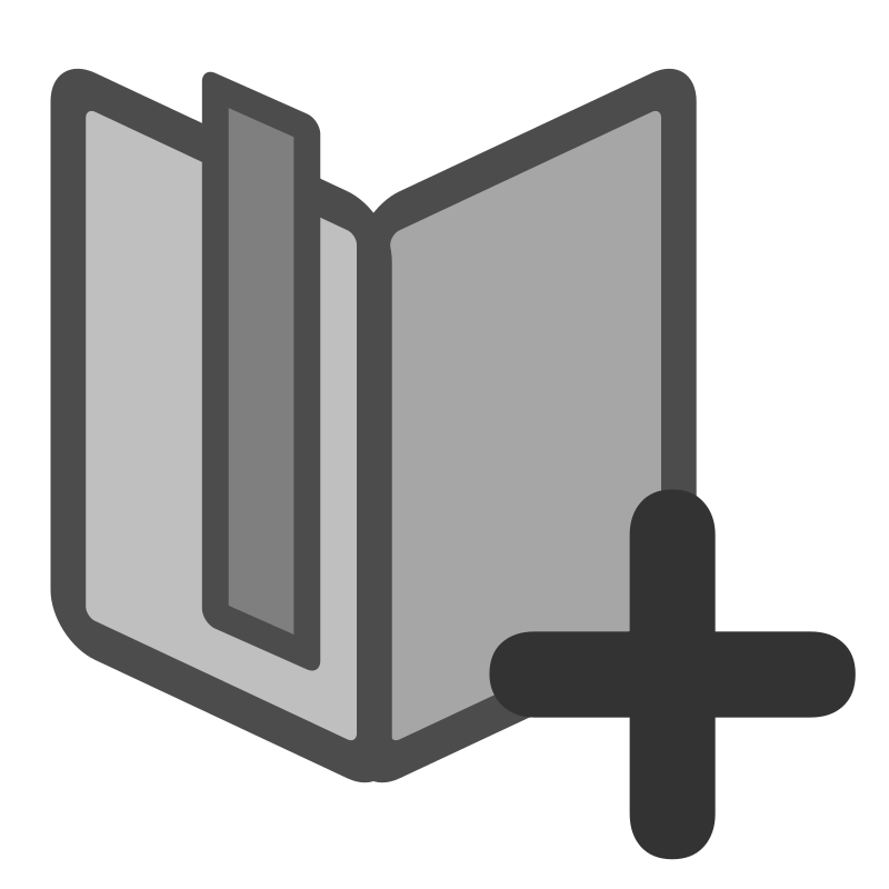 ftbookmarks list add by dannya - Originally uploaded by Danny Allen for OCAL 0.18 this icon is part of the flat theme