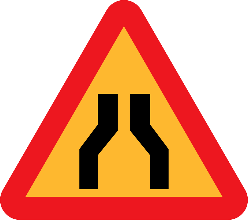 Roadlayout Sign 8 by ryanlerch - A sign depicting the layout of an intersection.