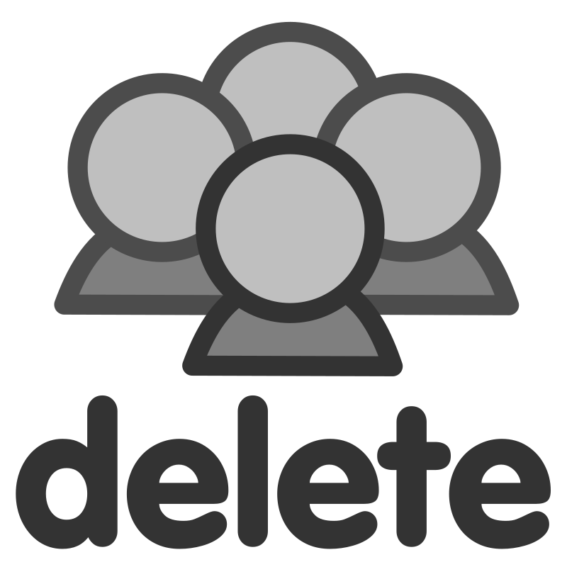 ftdelete group by dannya - Originally uploaded by Danny Allen for OCAL 0.18 this icon is part of the flat theme
