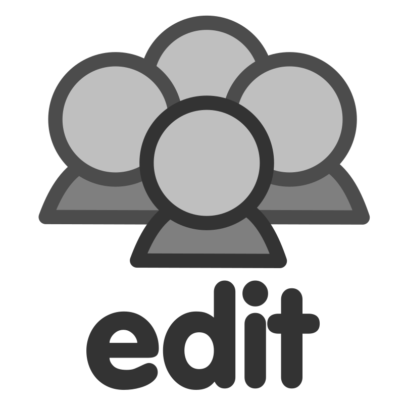 ftedit group by dannya - Originally uploaded by Danny Allen for OCAL 0.18 this icon is part of the flat theme