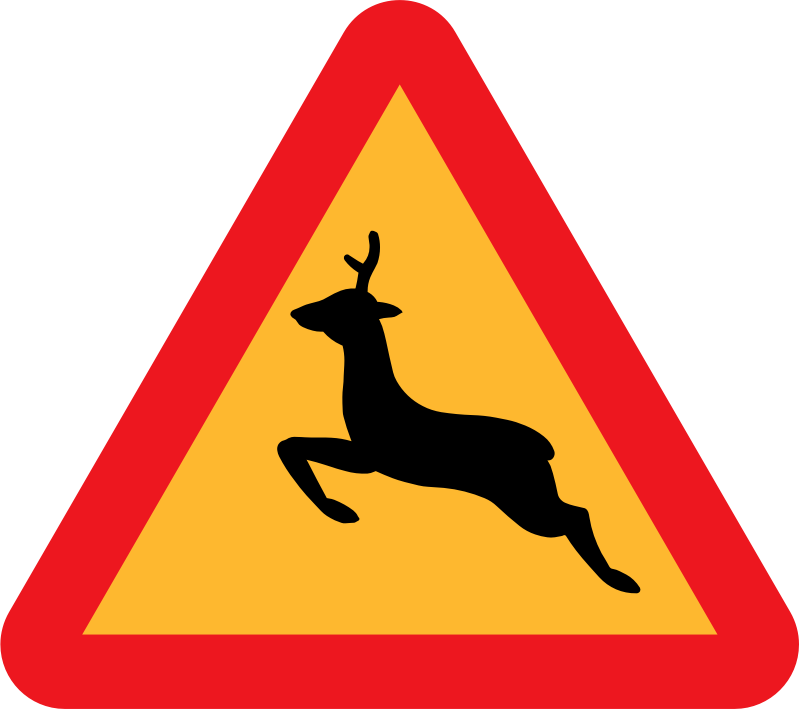 clipart warning deer roadsign warning clipart free warning clipart free