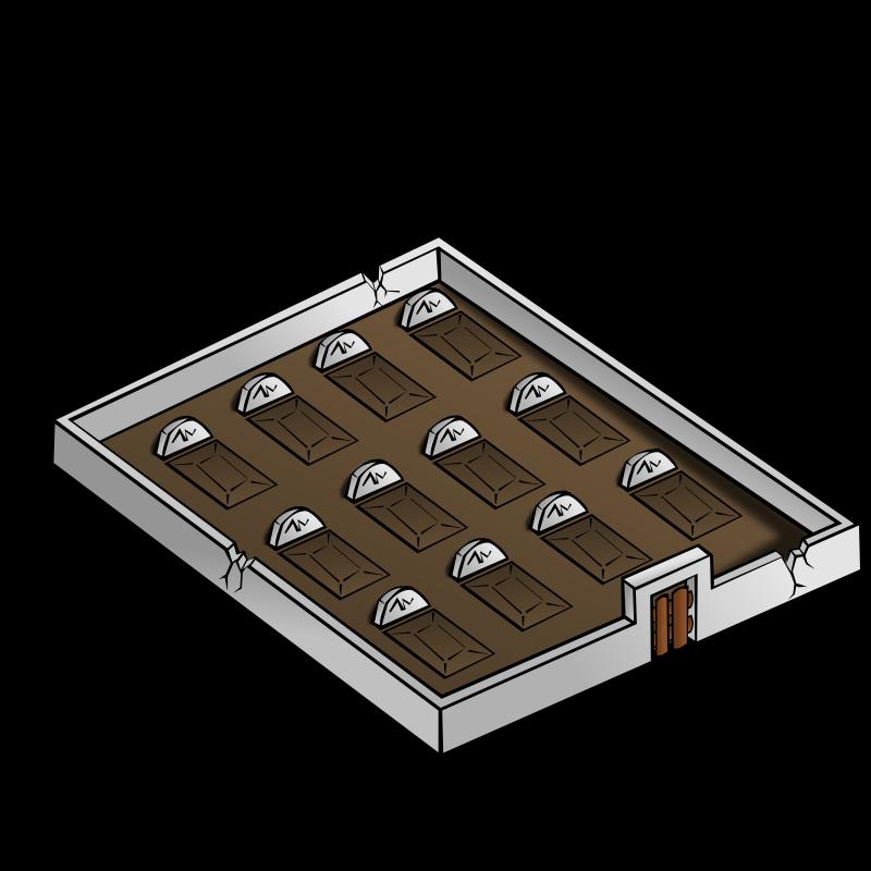 Clipart - RPG map symbols: Graveyard