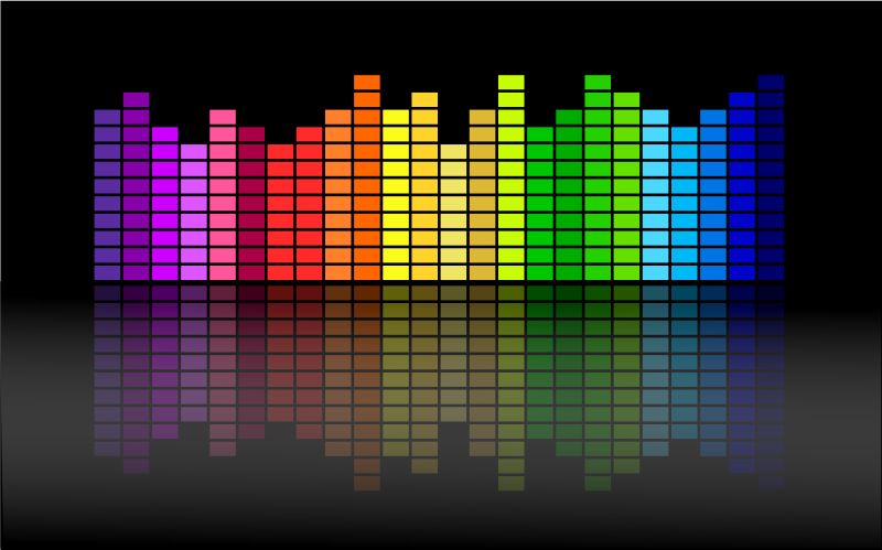 Music Equalizer by Merlin2525 - A Simple Music Equalizer created in Inkscape.