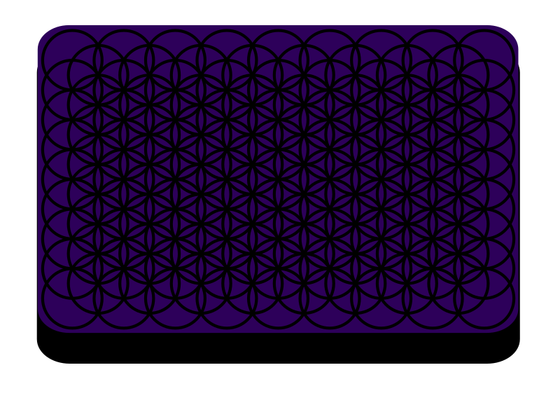 Flower of Life Tessellation for Laptop by KSimmulator