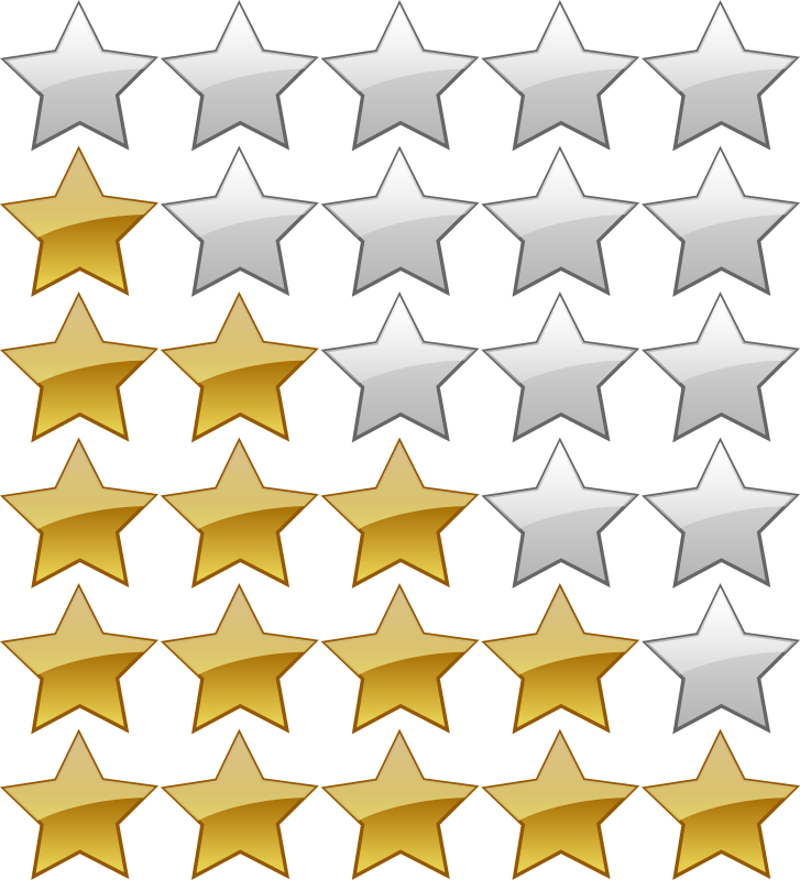 5 Star Rating System by jhnri4