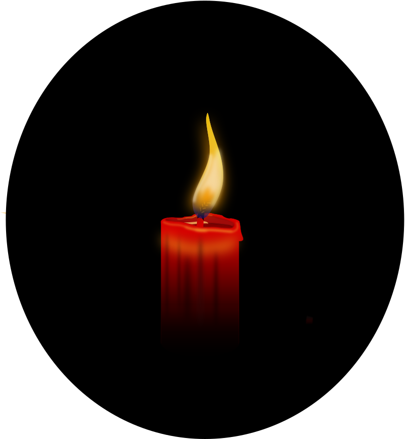 Candle by Andy_Gardner - A candle drawn on Inkscape.