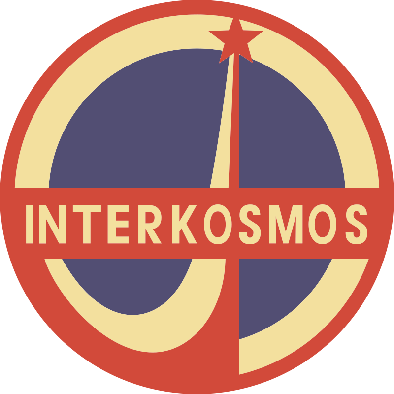 Interkosmos (general emblem) by Rones by rones - General emblem of the space project «Interkosmos»