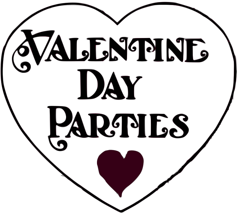 Valentine Day Parties - title by j4p4n