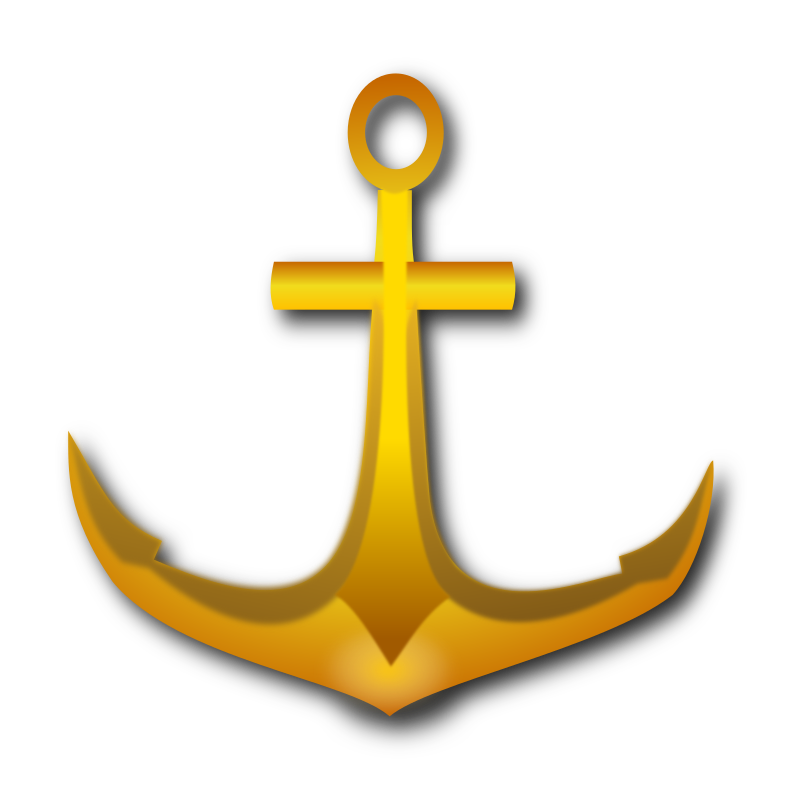 golden anchor by marauder - This anchor was made for a Logo