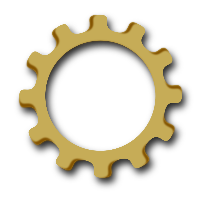 gearwheel by marauder - A part of a Logo-Emblem