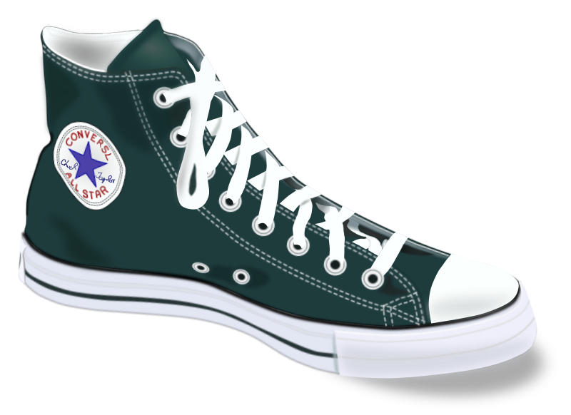 Conversl Chucks by marauder - One of my first Drawings with Incscape - (2006)