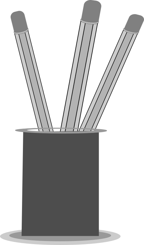 Pencil stand by gsagri04 - pen/ pencil stand