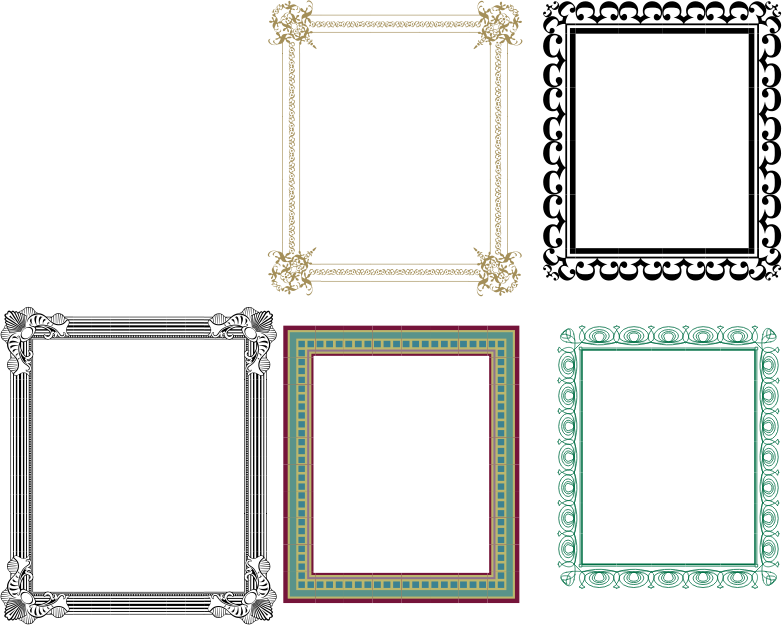 Artistic Frames 2 by meticulous