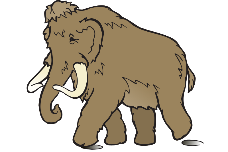 Wooly Mammoth by eady