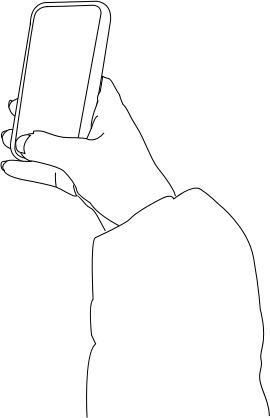 cell hand3 by entropy_eater - smartphone (iphone) in use, held in hand