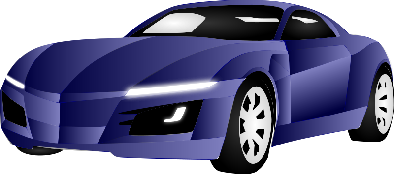 Car by LiquidSnake - It's an amazing car. I imported a car's photo into InkScape and used the Bezier tool to draw on it.