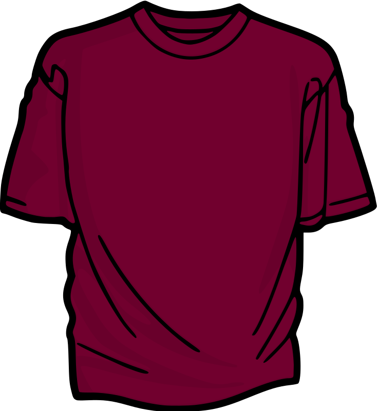 Violet T-Shirt by kuba - A colored T-shirt.