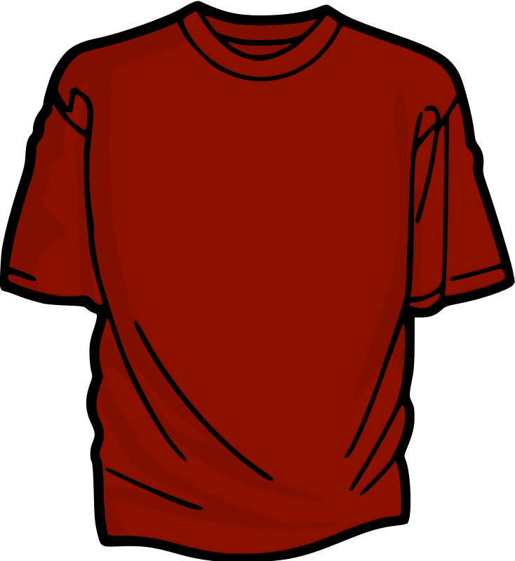 Red T-Shirt by kuba - A colored T-shirt.