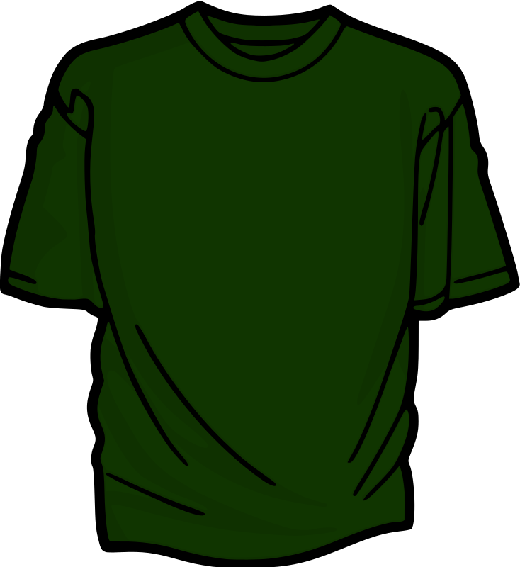 Green T-Shirt by kuba - A colored T-shirt.