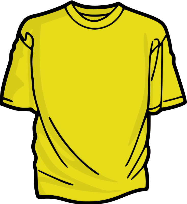 Yellow T-Shirt by kuba