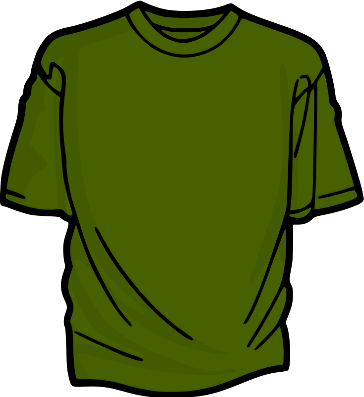 Green 2 T-Shirt by kuba