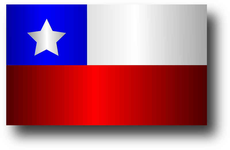 Chilean Flag 5 by Merlin2525