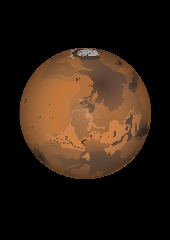 mars planet vector - photo #4