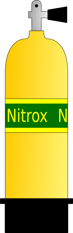 nitrox scuba tank 01 by chrismurf
