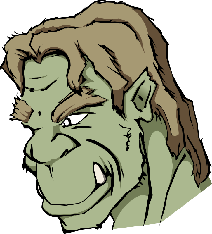 Orc by liftarn - An orc. Found at 