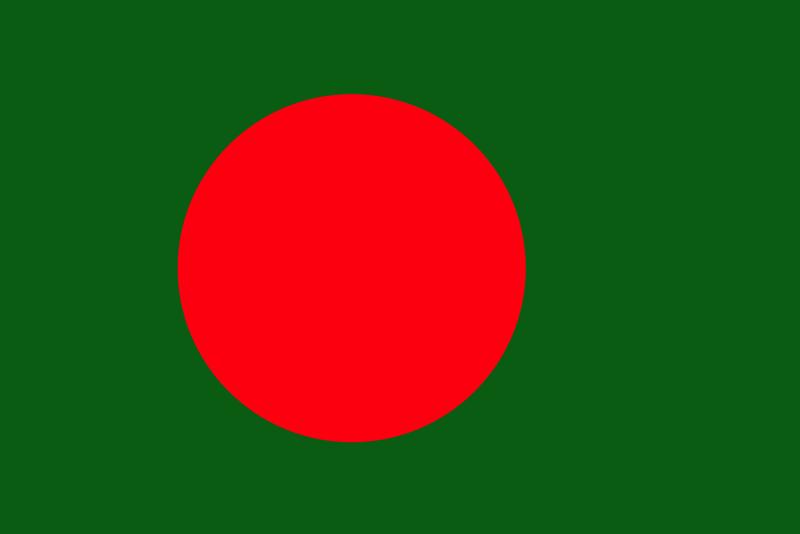 Bangladesh on Circle Clip Art