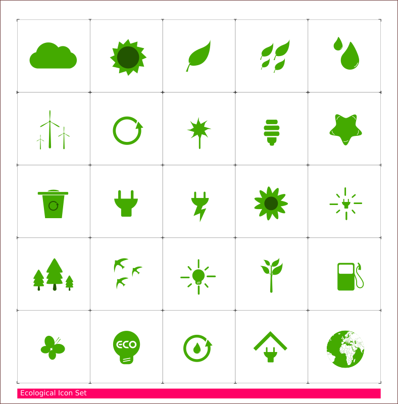 Eco Icon Set by systemedic