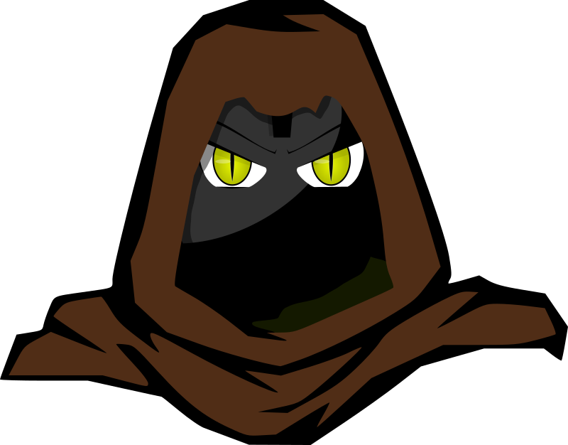 Hooded Cartoon Character II by lordoftheloch