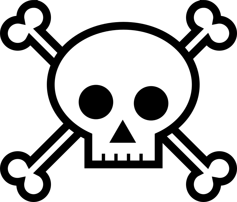 Skull and Crossbones by dear_theophilus