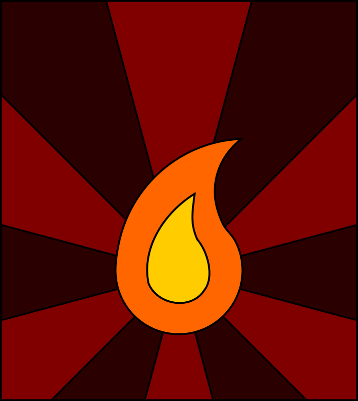 Clipart - flame