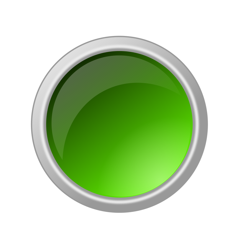 glossy green button by ricardomaia - glossy green button.