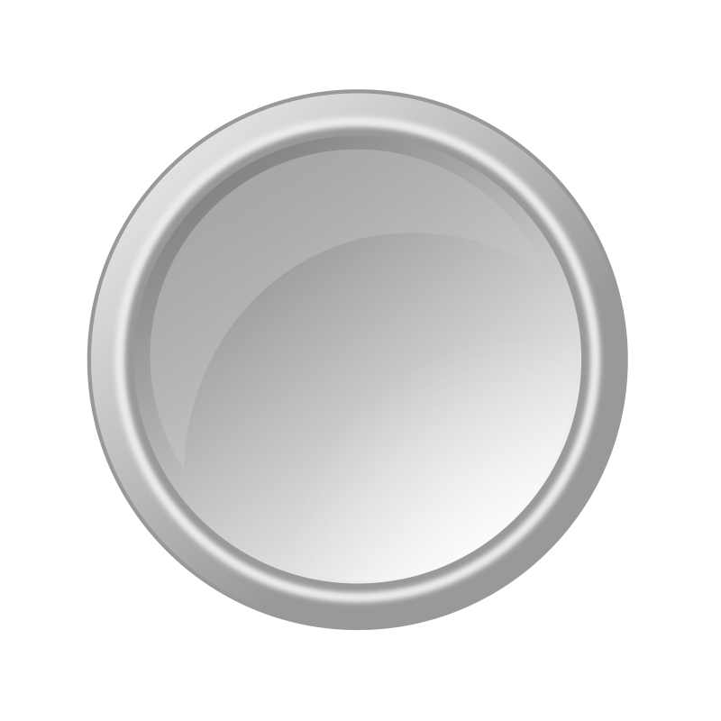 glossy lightgray button by ricardomaia