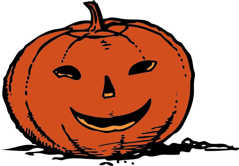 smily pumpkin by johnny_automatic - a smiling jack-o-lantern