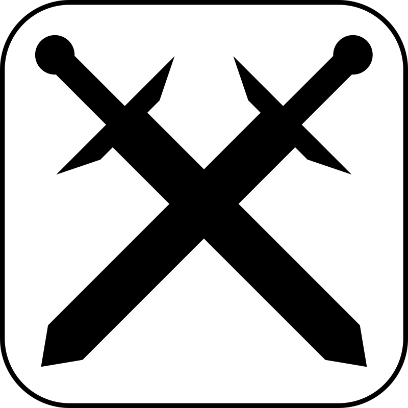 Icon Games by rones - Swords icon.