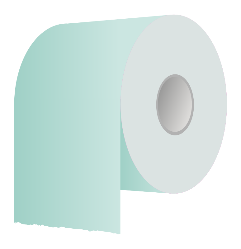 Toilet paper roll revisited by PeterM - Changed the colours of molumen ...