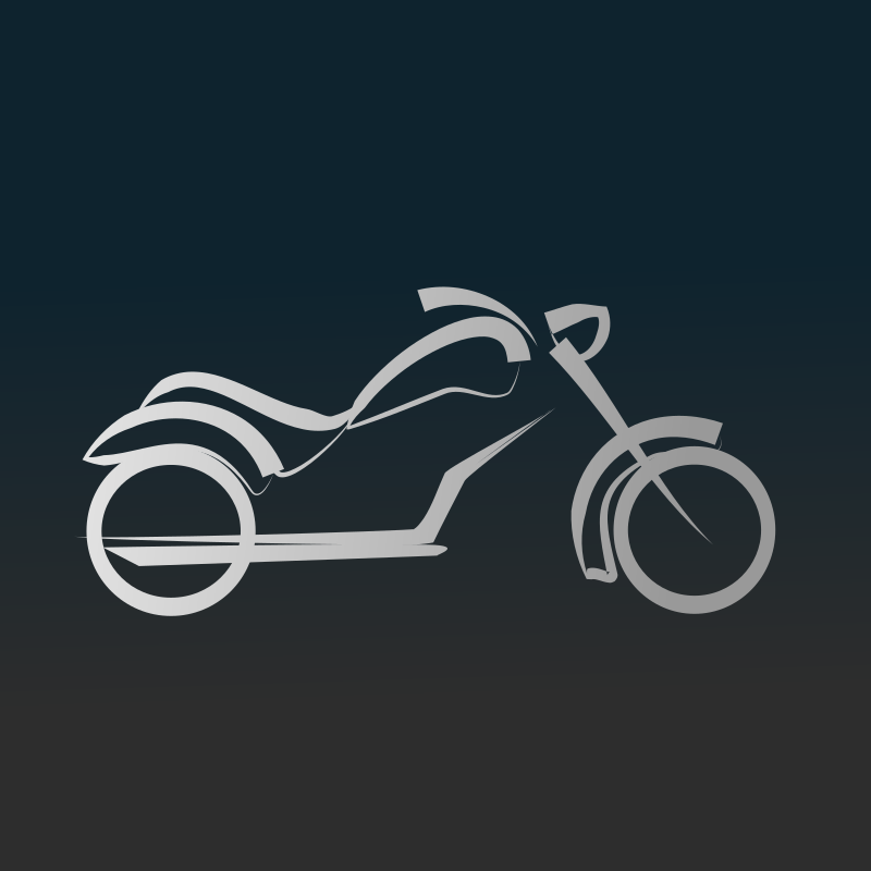 Motorbike icon by netalloy - Motor Sports Clip Art