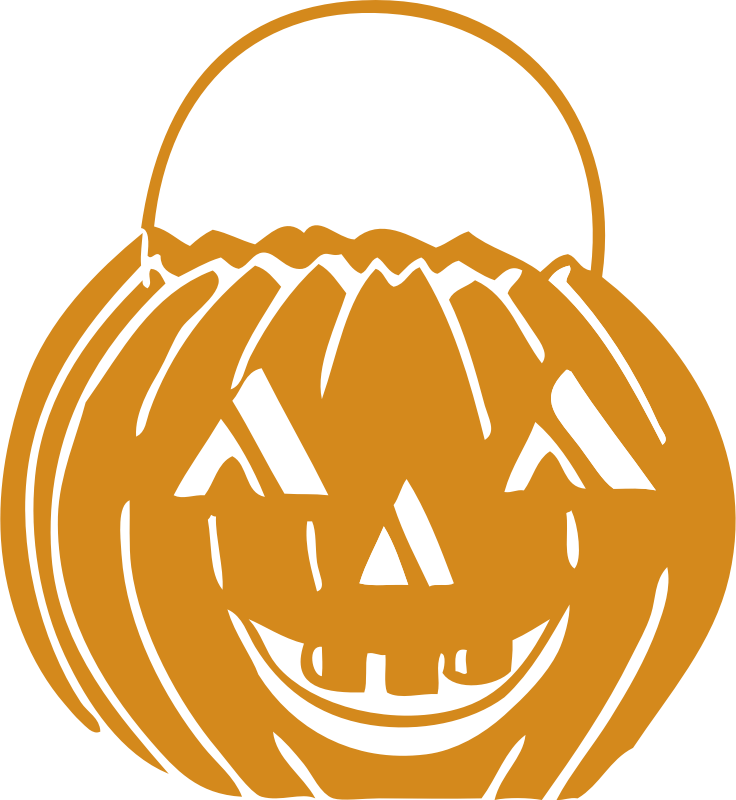 "jack o' lantern by johnny_automatic - a carved pumpkin for Halloween scanned from the book ""Scan This Book"""