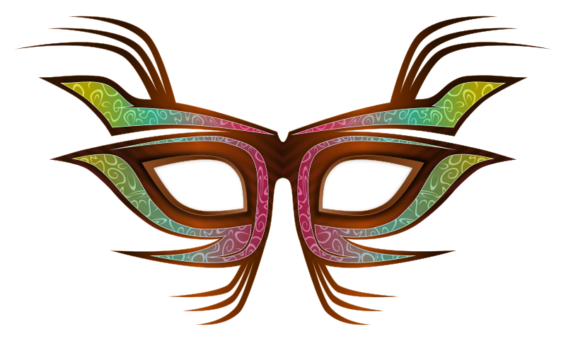 Party Mask by Viscious-Speed - A party mask, useful for carnaval/carnival purposes too.