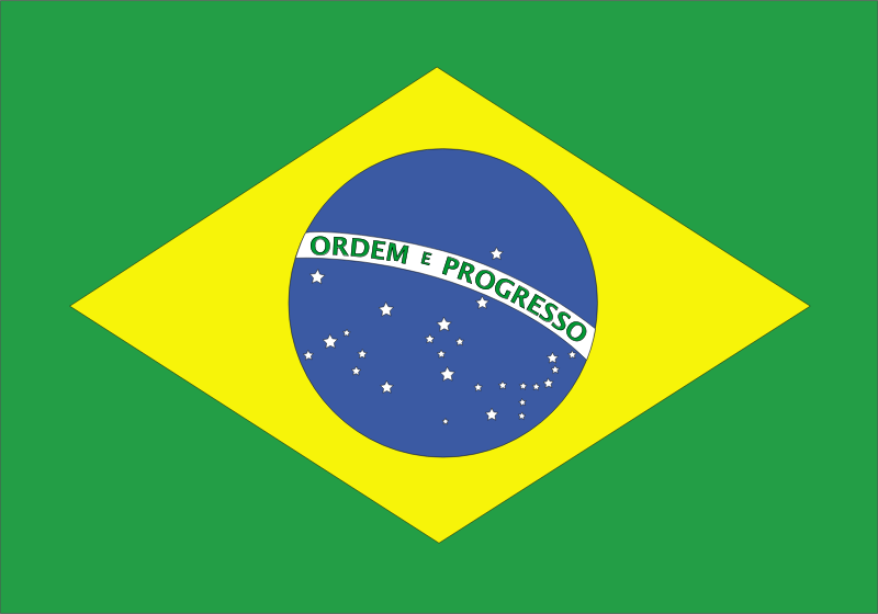 flag of brazil by Anonymous -