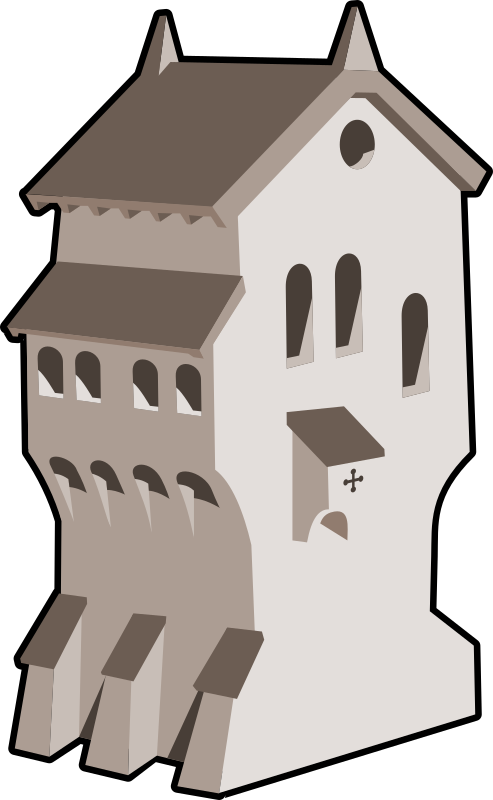 medieval building by tzunghaor