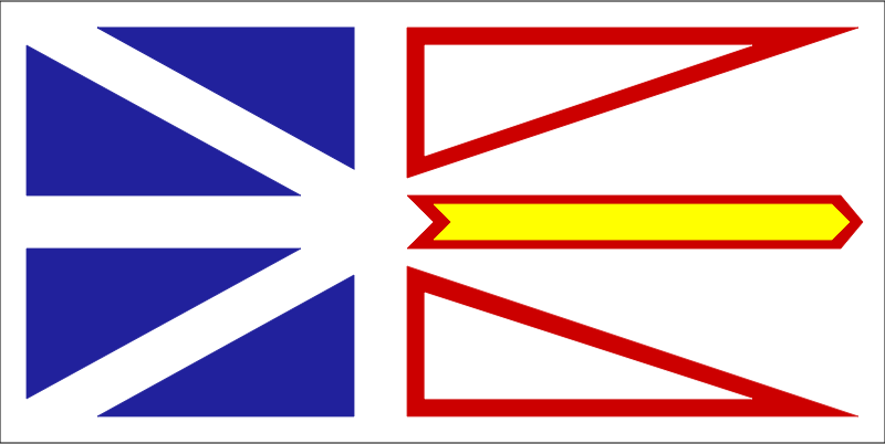 flag of newfoundland canada by Anonymous