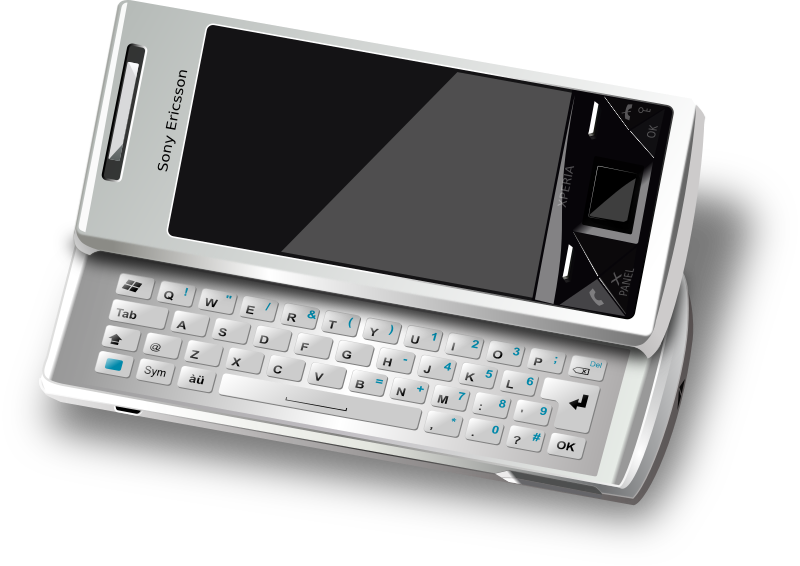 Smart Phone by averpix - Sony Ericsson Xperia-1 phone