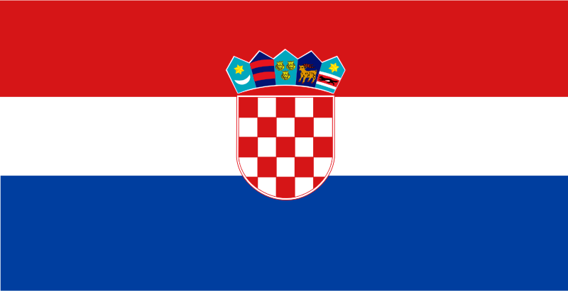 Flag of croatia by Anonymous