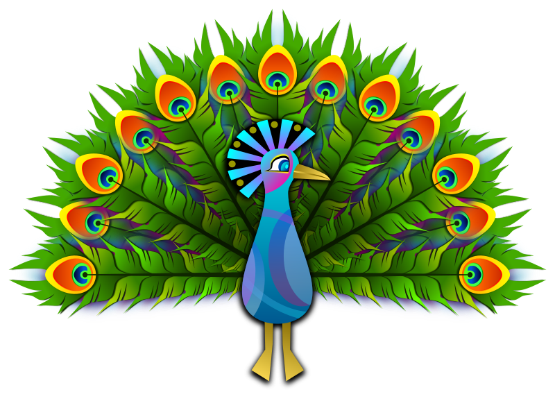 Peacock by Viscious-Speed -