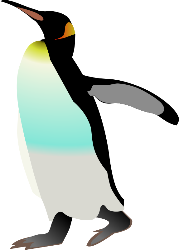 emperor penguin by Anonymous -